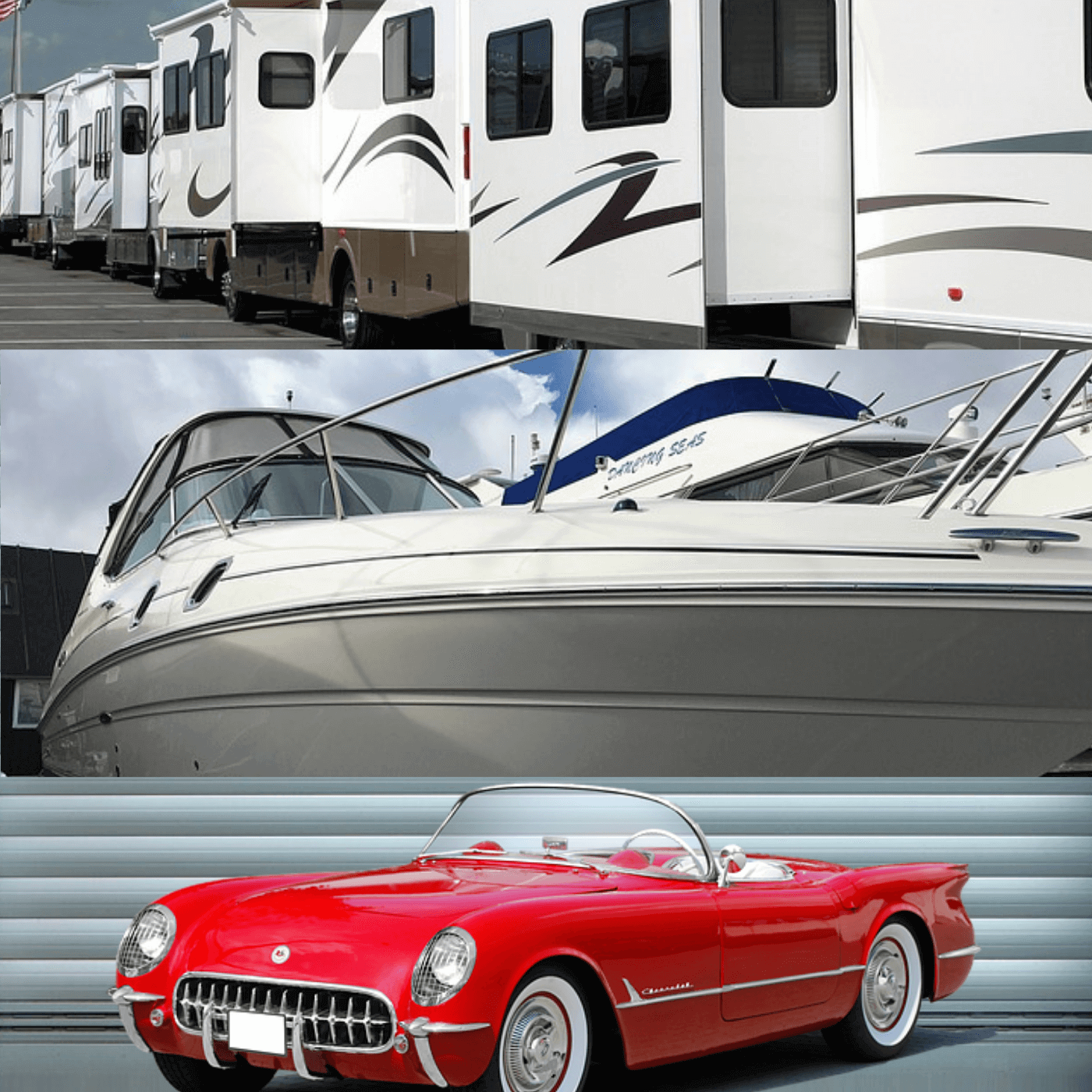 RV, Boat and Auto self storage offered at Sawnee Storage